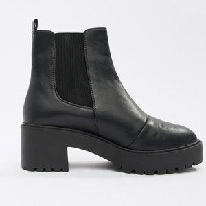 Asos Chunky Heel Chelsea Boots